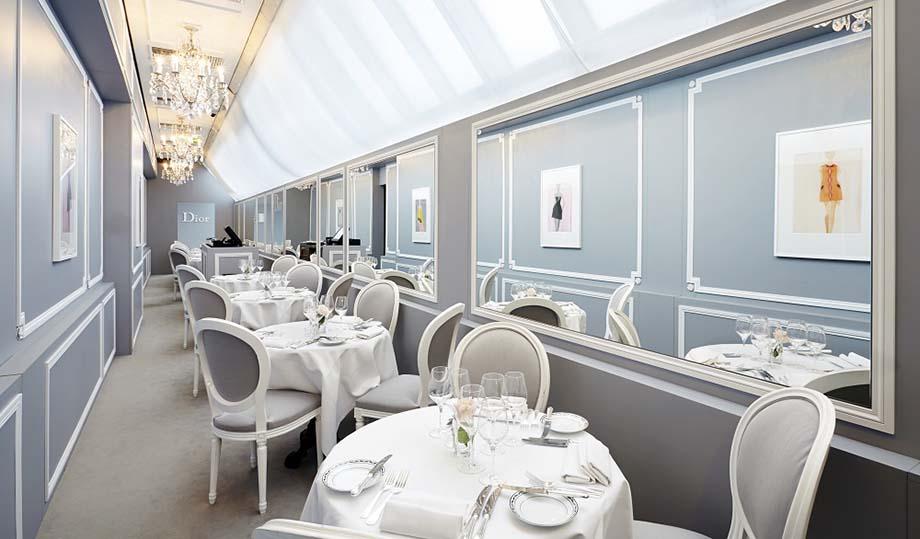 Dior Café at Harrods