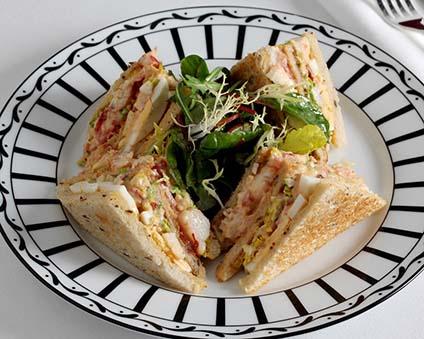 Lobster Club Sandwich