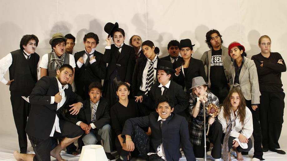 Hollywood Academy of Performing Arts. Students in Bolivia.
