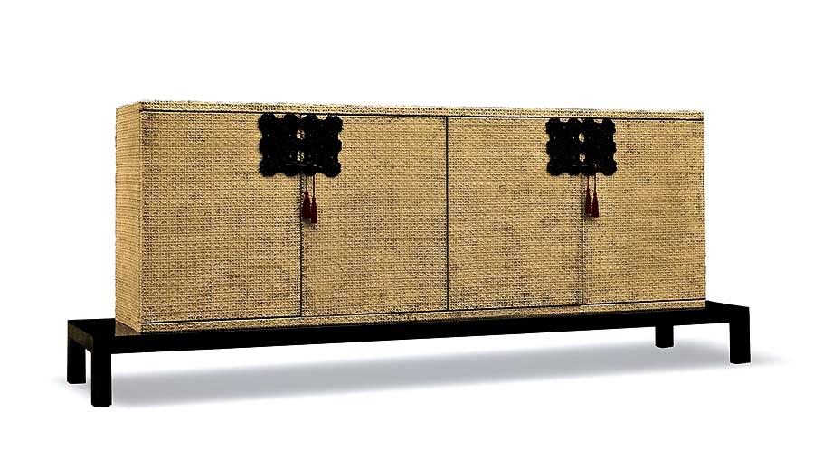 Barbara Abaterusso Design - Low-Rise Varnished Furniture